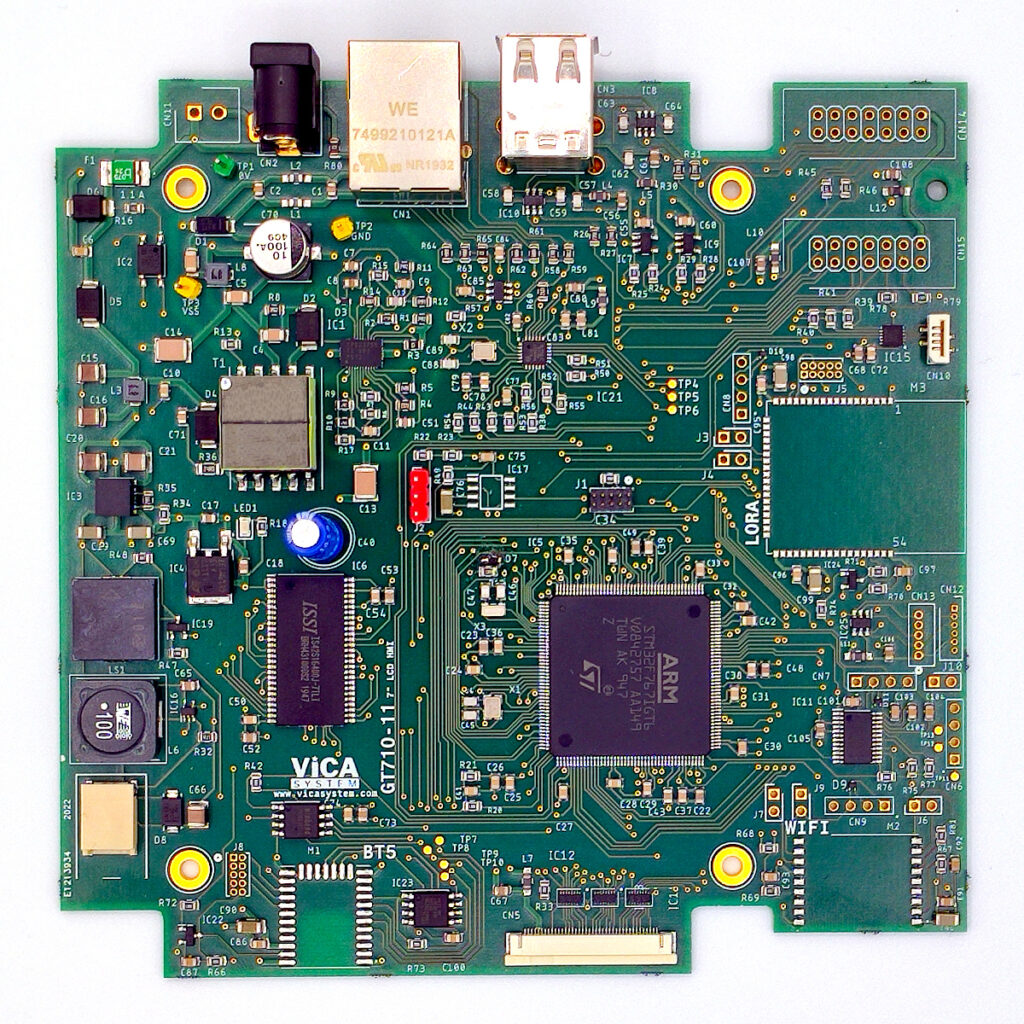 Scheda GT7 STM32 LCD WIFI